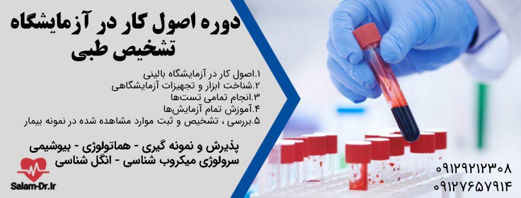 آموزش کار در آزمایشگاه